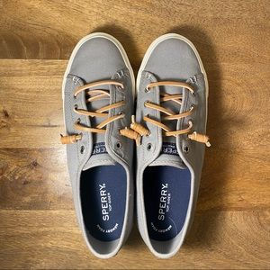 Sperry Leisure Shoes - Gray Casual Loafers